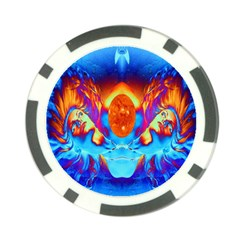 Escape From The Sun Poker Chip by icarusismartdesigns