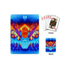 Escape From The Sun Playing Cards (mini) by icarusismartdesigns