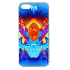 Escape From The Sun Apple Seamless Iphone 5 Case (clear) by icarusismartdesigns