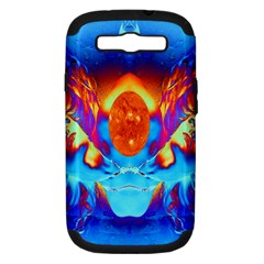 Escape From The Sun Samsung Galaxy S Iii Hardshell Case (pc+silicone) by icarusismartdesigns