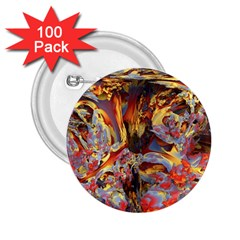 Abstract 4 2 25  Button (100 Pack) by icarusismartdesigns