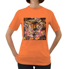 Abstract 4 Women s T Shirt (colored) by icarusismartdesigns