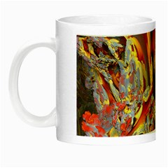 Abstract 4 Glow In The Dark Mug by icarusismartdesigns