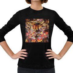 Abstract 4 Women s Long Sleeve T Shirt (dark Colored) by icarusismartdesigns