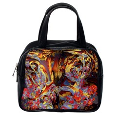 Abstract 4 Classic Handbag (one Side) by icarusismartdesigns