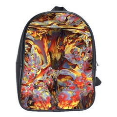 Abstract 4 School Bag (large) by icarusismartdesigns