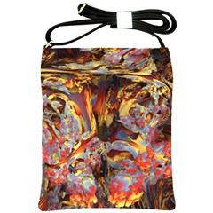 Abstract 4 Shoulder Sling Bag by icarusismartdesigns