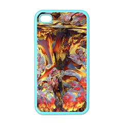 Abstract 4 Apple Iphone 4 Case (color) by icarusismartdesigns