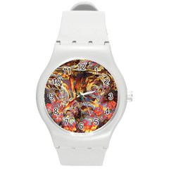 Abstract 4 Plastic Sport Watch (medium) by icarusismartdesigns