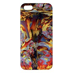 Abstract 4 Iphone 5s Premium Hardshell Case by icarusismartdesigns