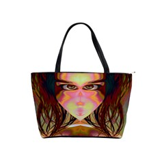 Cat Woman Large Shoulder Bag by icarusismartdesigns
