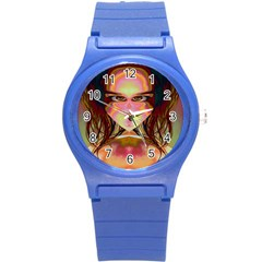 Cat Woman Plastic Sport Watch (small) by icarusismartdesigns