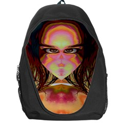 Cat Woman Backpack Bag by icarusismartdesigns