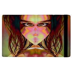 Cat Woman Apple Ipad 2 Flip Case by icarusismartdesigns