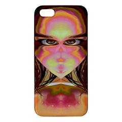 Cat Woman Apple Iphone 5 Premium Hardshell Case by icarusismartdesigns