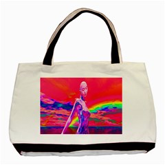 Cyborg Mask Classic Tote Bag by icarusismartdesigns