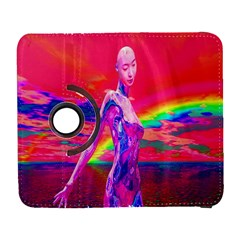 Cyborg Mask Samsung Galaxy S  Iii Flip 360 Case by icarusismartdesigns