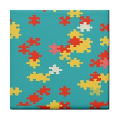 Puzzle Pieces Ceramic Tile