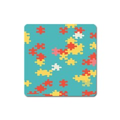 Puzzle Pieces Magnet (square)