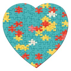 Puzzle Pieces Jigsaw Puzzle (heart)
