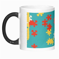 Puzzle Pieces Morph Mug