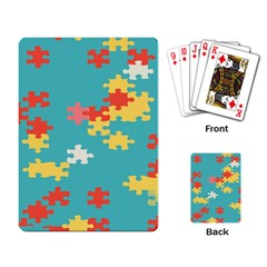 Puzzle Pieces Playing Cards Single Design