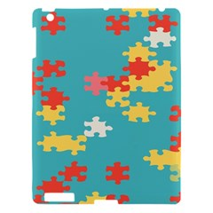 Puzzle Pieces Apple Ipad 3/4 Hardshell Case by LalyLauraFLM
