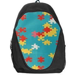 Puzzle Pieces Backpack Bag
