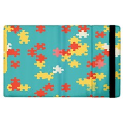Puzzle Pieces Apple Ipad 3/4 Flip Case by LalyLauraFLM