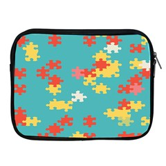 Puzzle Pieces Apple Ipad Zippered Sleeve