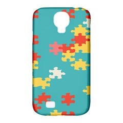 Puzzle Pieces Samsung Galaxy S4 Classic Hardshell Case (pc+silicone)