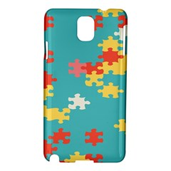 Puzzle Pieces Samsung Galaxy Note 3 N9005 Hardshell Case