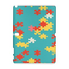 Puzzle Pieces Samsung Galaxy Note 10 1 (p600) Hardshell Case