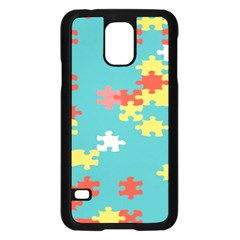Puzzle Pieces Samsung Galaxy S5 Case (black)