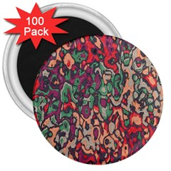 Color Mix 3  Magnet (100 Pack) by LalyLauraFLM