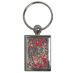 Color Mix Key Chain (rectangle)