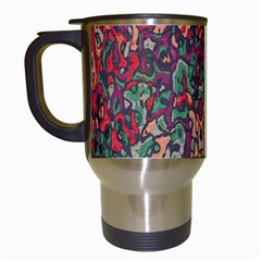 Color Mix Travel Mug (white)