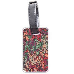 Color Mix Luggage Tag (two Sides)