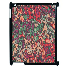 Color Mix Apple Ipad 2 Case (black)