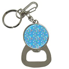Colorful Squares Pattern Bottle Opener Key Chain