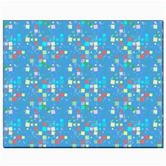 Colorful Squares Pattern Canvas 8  X 10