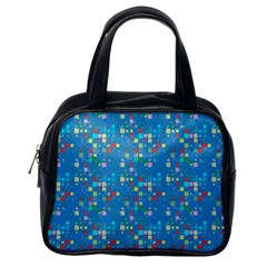 Colorful Squares Pattern Classic Handbag (one Side)
