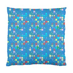 Colorful Squares Pattern Cushion Case (two Sides)