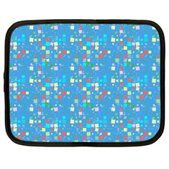 Colorful Squares Pattern Netbook Case (xl)