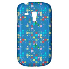 Colorful Squares Pattern Samsung Galaxy S3 Mini I8190 Hardshell Case