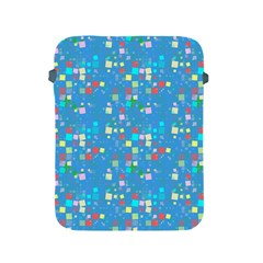 Colorful Squares Pattern Apple Ipad 2/3/4 Protective Soft Case