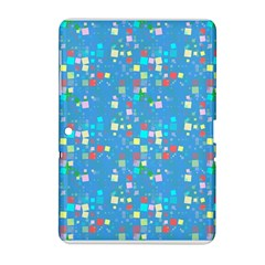Colorful Squares Pattern Samsung Galaxy Tab 2 (10 1 ) P5100 Hardshell Case