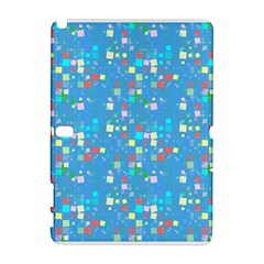 Colorful Squares Pattern Samsung Galaxy Note 10 1 (p600) Hardshell Case