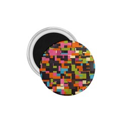 Colorful Pixels 1 75  Magnet