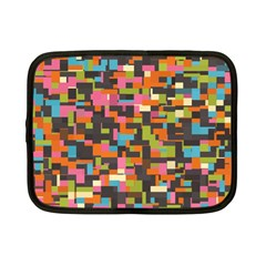 Colorful Pixels Netbook Case (small)